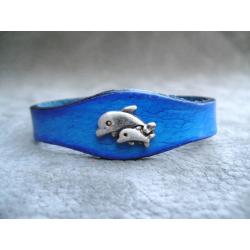 Bracelets à Motif bébés dauphins