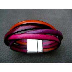 Bracelet Tresse 4 Brins Magnétique